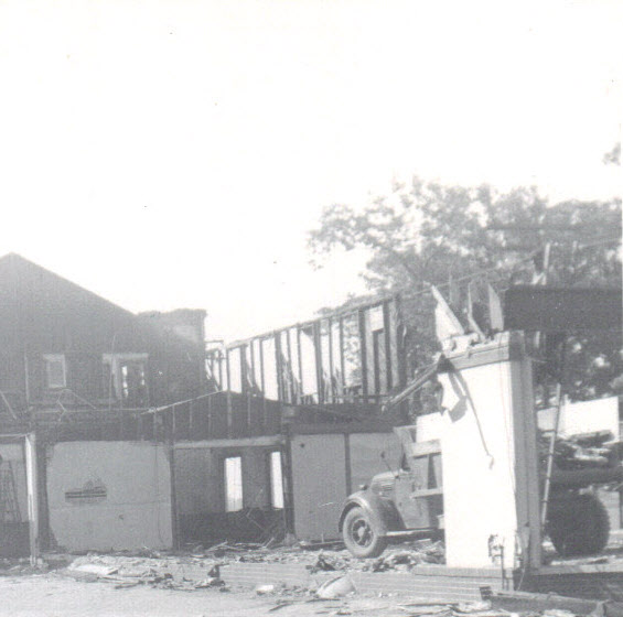 during demolition