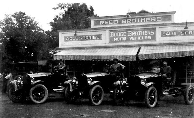 Reed Brothers Dodge 1927