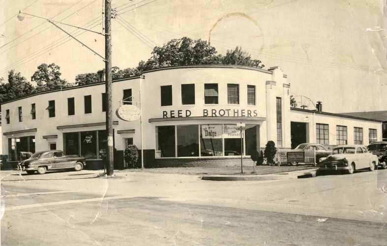 1953 at East Montgomery Ave and Dodge Street