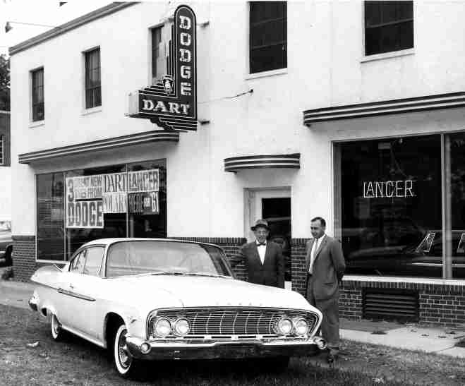 1961 Reed Brothers Dodge Showroom