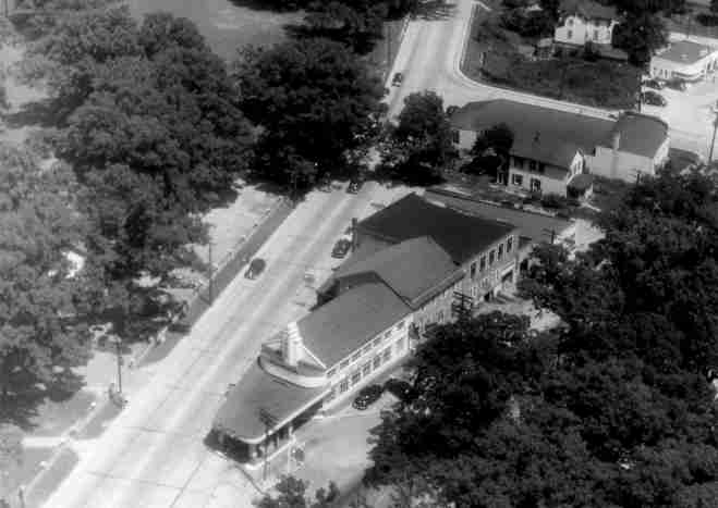 Aerial view of original location at the intersection of Viers Mill Road and Rockville Pike