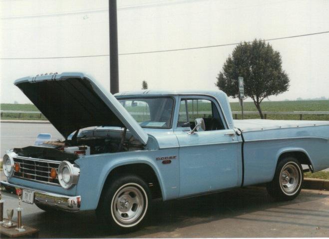1966 Dodge D100 Sweptline Pickup