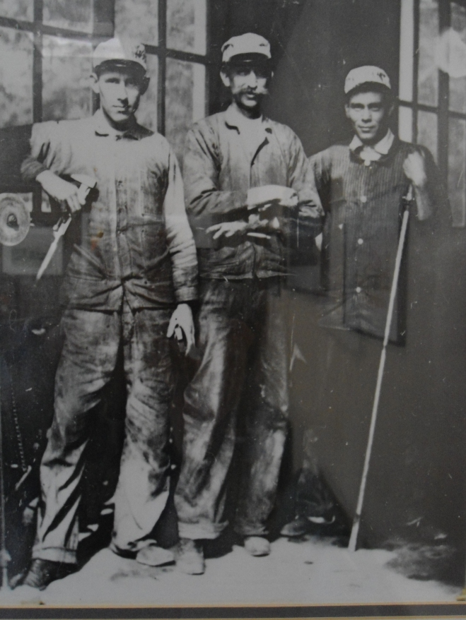 Lewis Reed, Philip Reed and (first name unknown) Long.
