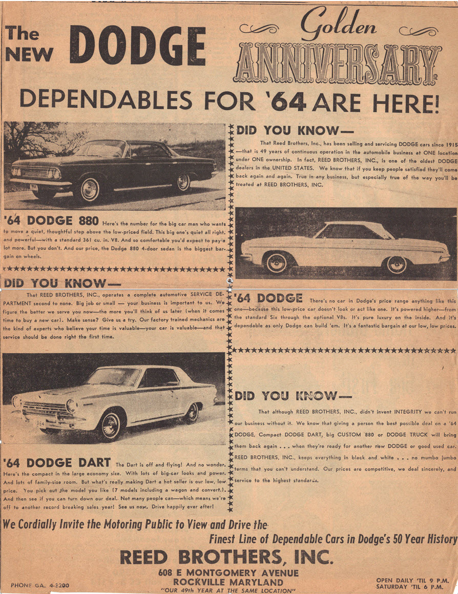 Dodge Dependables