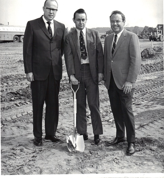 Reed Brothers Dodge ground breaking