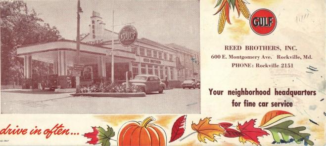 Gulf Gas Postcard