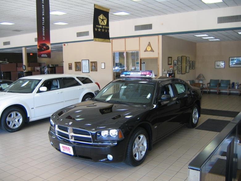 Dodge showroom