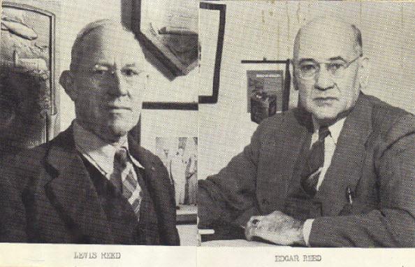 Lewis & Edgar Reed 1914-1920
