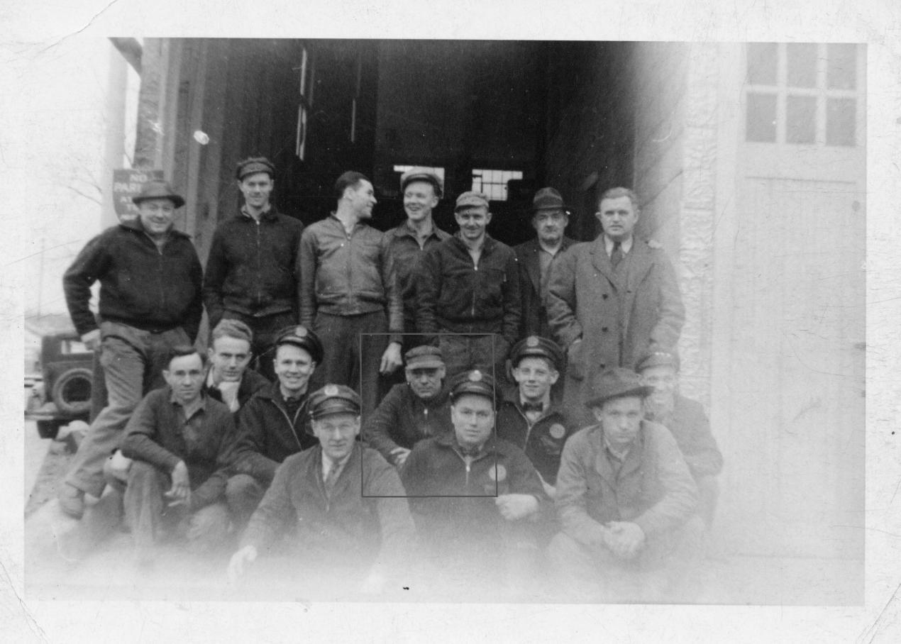 Rockville Garage Sales & Service Staff circa 1920s