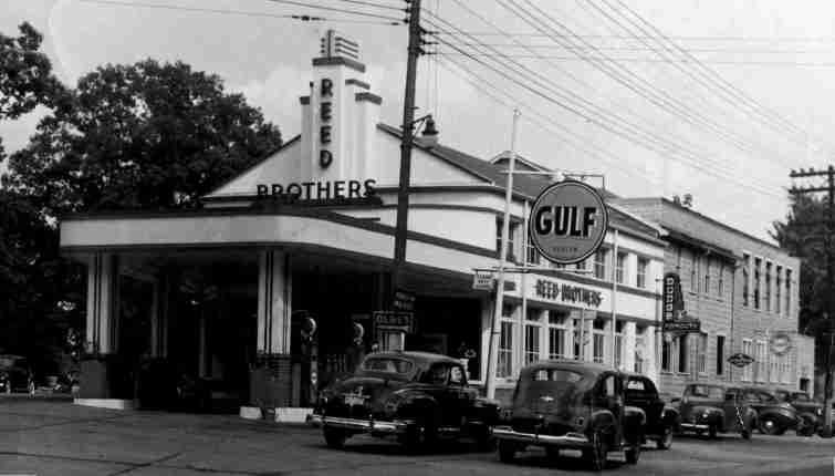 Reed Brothers Dodge Addition of Gulf Gas