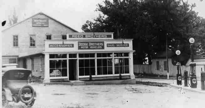 Reed Brothers Dodge got a new facelift and remodel in 1922