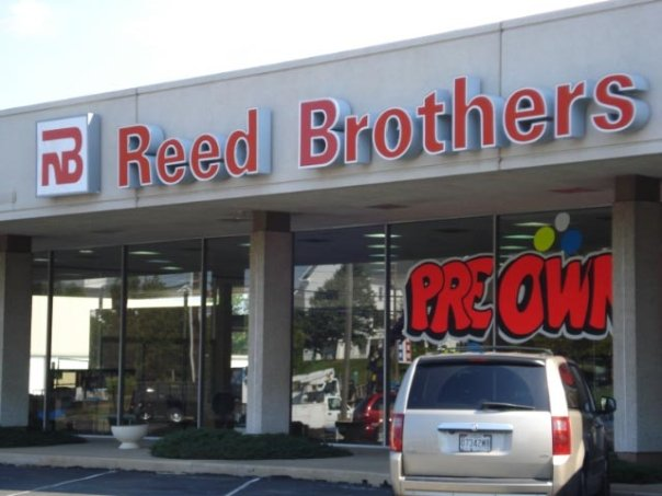 2009 - Reed Brothers Automotive with new logo