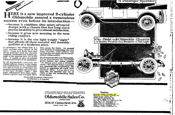 Washington Post 1919