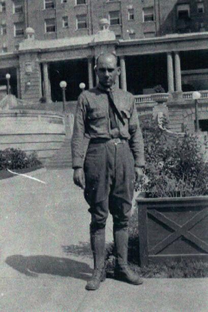 Edgar at Cape May, New Jersey during World War I