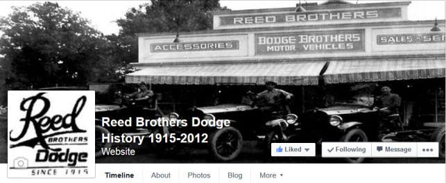 Reed Brothers Dodge Facebook
