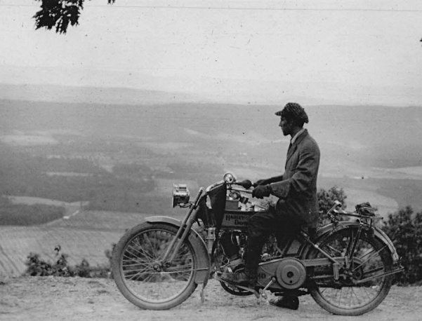Lewis Reed on Harley Davidson