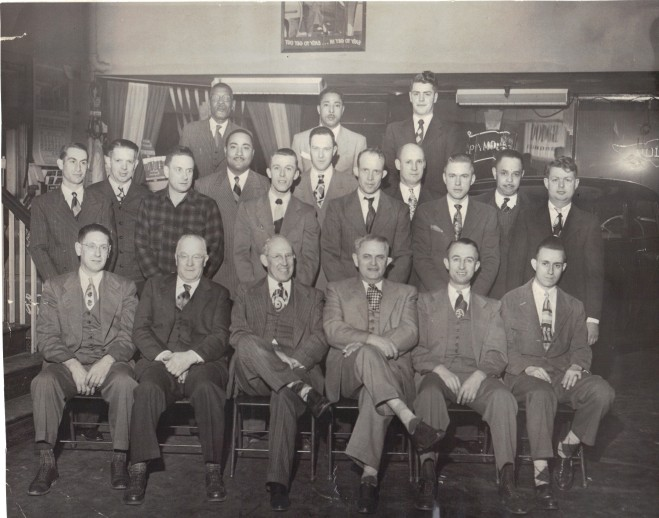 1950 Employee Group at annual company party