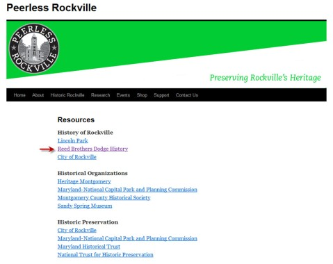 Peerless Rockville Website