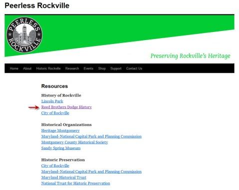 Peerless Rockville Website