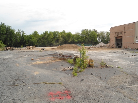 Reed Brothers Dodge Demolition