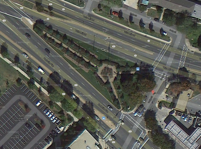 Google Earth Dodge Street Rockville MD