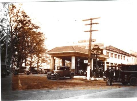 1920s Gulf Gas
