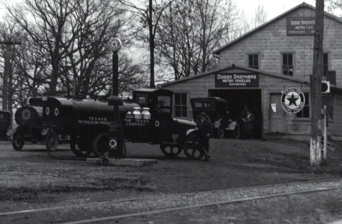 Texaco Fuel Trucks 1917