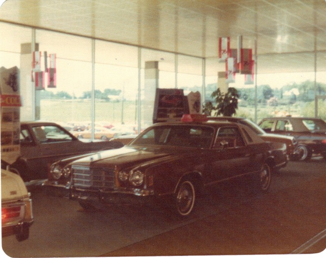 1970s Reed Brothers Dodge showroom