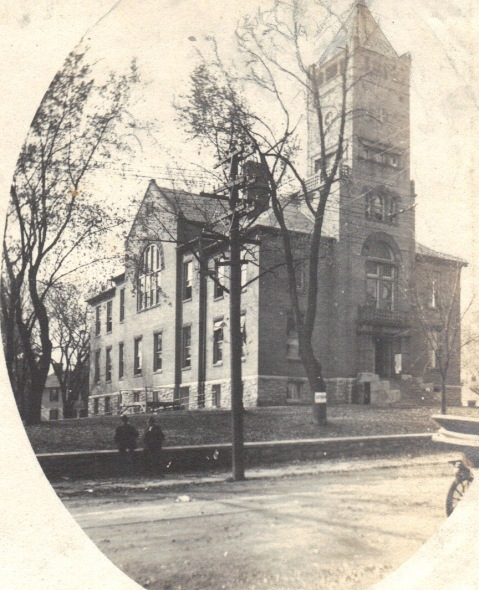 Rockville Courthouse 1914