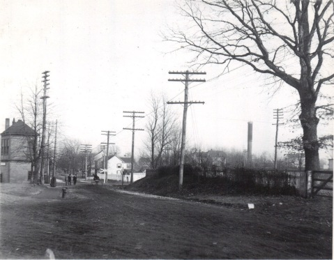 Rockville Site Tower at Rockville Grade Crossing Baltimore Rd 1909
