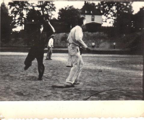 1920s company softball team