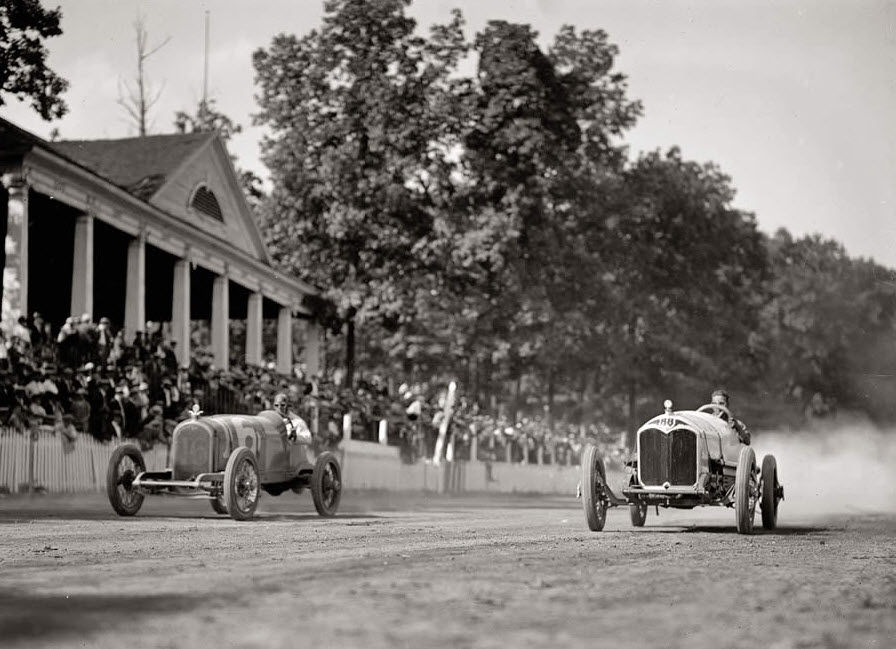 vintage car racing | Reed Brothers Dodge History 1915 – 2012