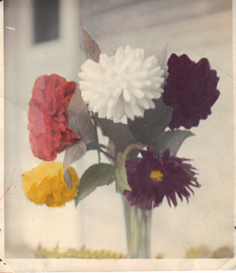 Lewis Reed hand tinted photo