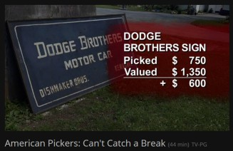 American Pickers hit Reed Brothers Dodge
