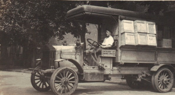 The Tabulating Machine Company Truck 1900s