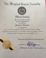 Senate Citation