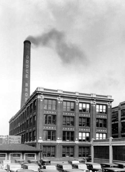 Dodge Hamtramck Plant (Dodge Main) circa 1920