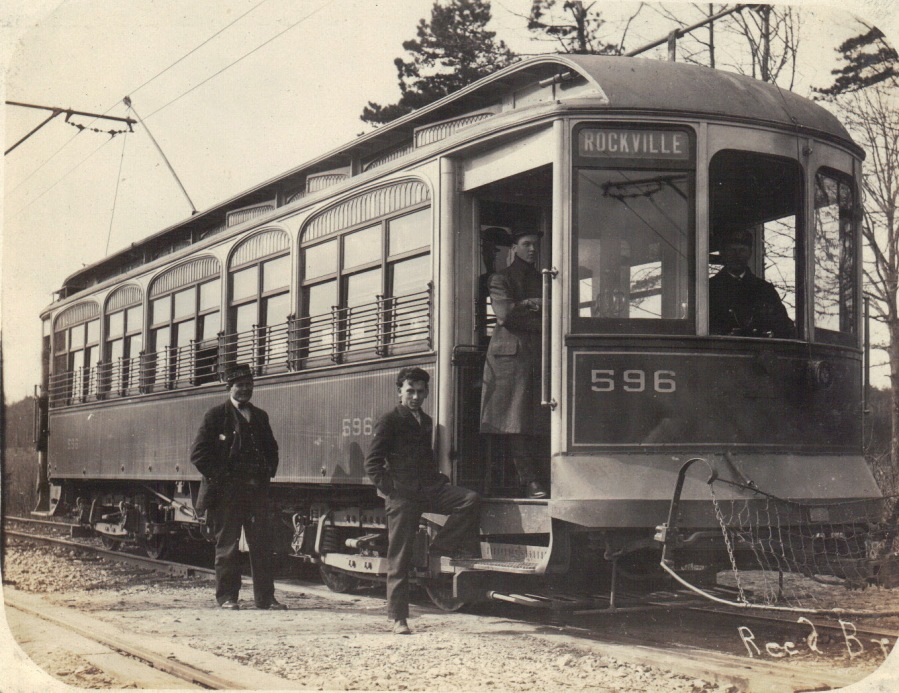 Trolley to Rockville