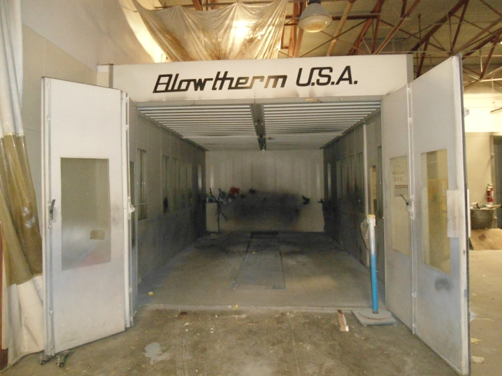 BLOWTHERM downdraft booth