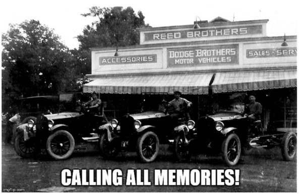 Reed Brothers Dodge Memories