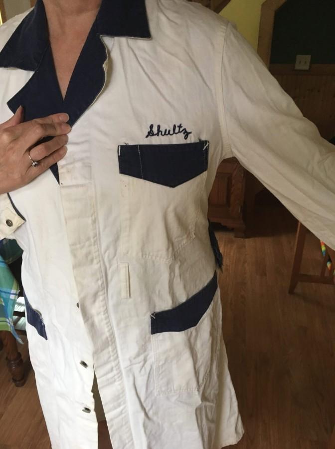 """Gas Station Shop Work Coat Jacket for """"Shultz"""""""