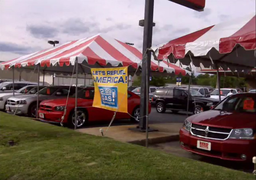 Tent Promo at Reed Brothers Dodge