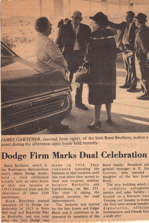 Reed Brothers Dodge 55th Anniversary