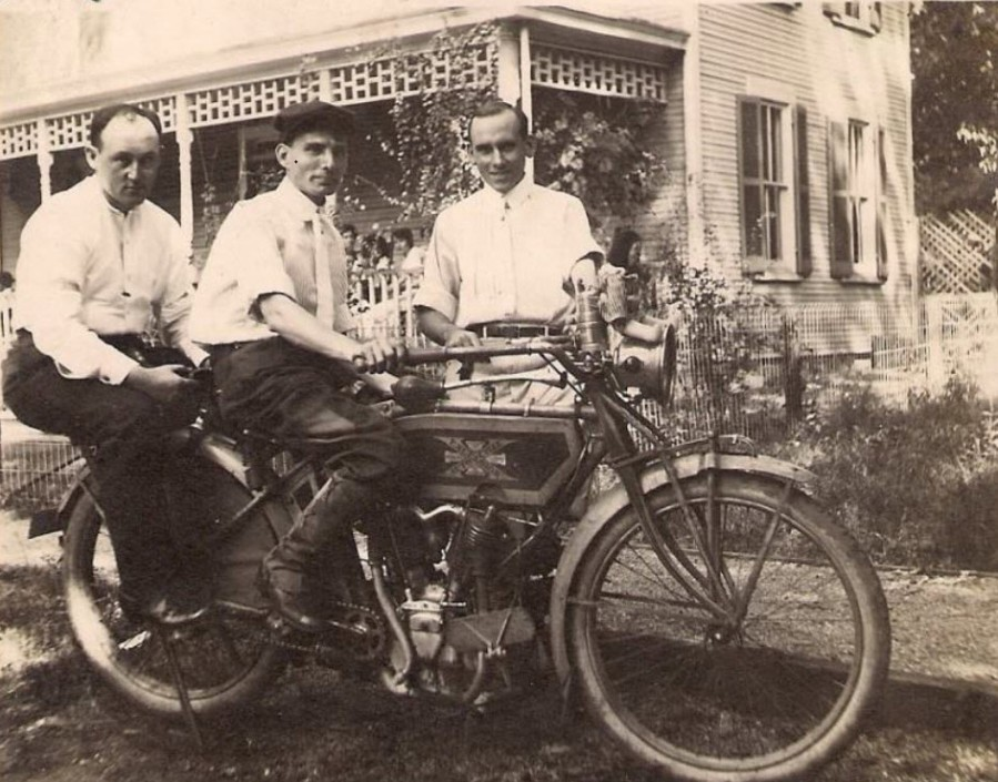 1914 Ecelcsior Motorcycle