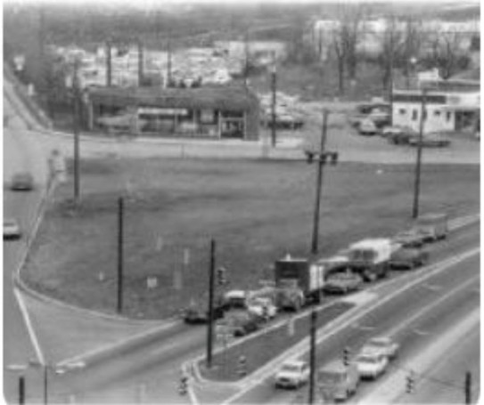Rockville Pike Triangle 1960s