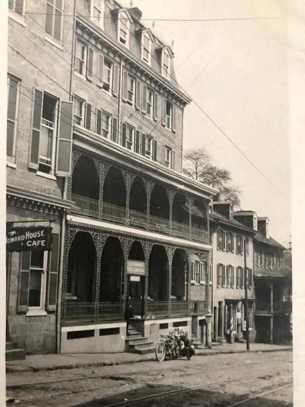 Howard House. Ellicott City, 1914.