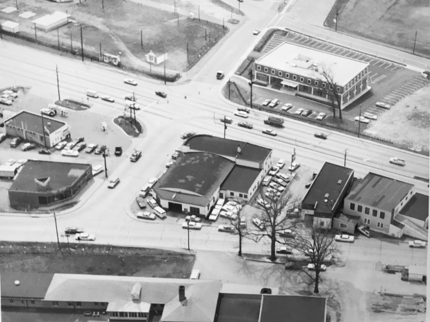 1930 Aerial view Reed Brothers Dodge