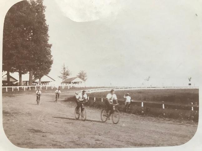 Rockville Fairgrounds Bicycle Races 1910