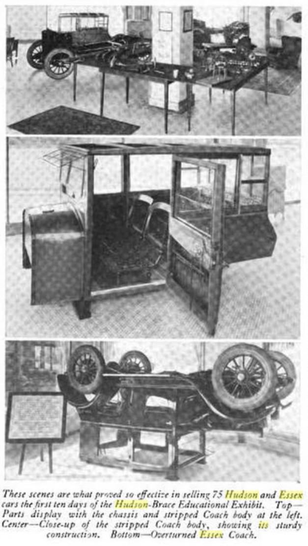 1922 Husdson-Essex Upside-down