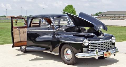 1946 Dodge Deluxe with Suicide Doors